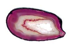 Pink агат Стоковое Изображение RF