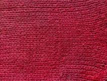 Pink связанная текстура шерстей смогите использовать как предпосылка стоковые изображения rf