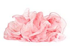 pink шелк шарфа стоковые фото