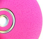 Pink. CD or DVD Royalty Free Stock Photography