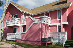 Pink Abandon Condo Stock Images