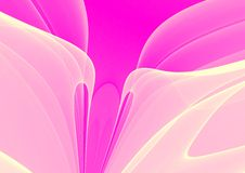 Pink abstract background Stock Images