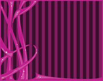 Pink abstract background. Pink abstract with striped background stock illustration