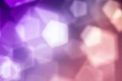 Pink abstract background, blurred lights bokeh Royalty Free Stock Image