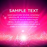 Pink abstract background. Colorful abstract background in pink colors with sparkles, vector illustration Stock Photography
