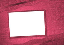 Pink abstract background with frame. For invitation Stock Photo