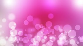 Pink abstract blured background with bokeh royalty free illustration