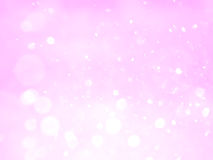 Pink abstract bokeh background and texture Stock Photo