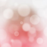 Pink abstract bokeh blurry background Royalty Free Stock Image
