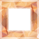 Pink abstract border Stock Images