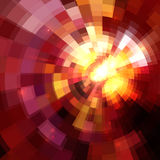 Pink abstract circles mosaic vector background Royalty Free Stock Image