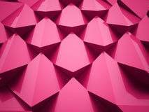 Pink abstract decoration Stock Photography