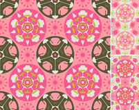 Pink abstract furniture pattern royalty free stock image