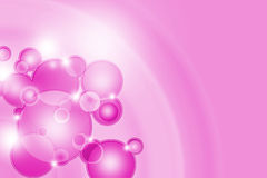 Pink abstract glowing background Stock Photography