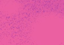 Pink abstract halftone pattern old style background. Comic book stock illustration