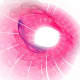 Pink abstract illustration Stock Images