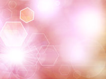 Pink abstract illustration Royalty Free Stock Image