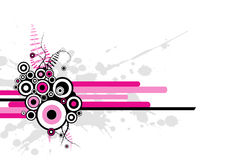 Pink abstract illustration. Vector Stock Photos