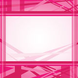 Pink abstract line background template Stock Image