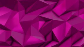 Pink abstract low poly triangle background royalty free illustration