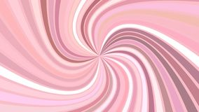Pink abstract psychedelic swirl stripe background - vector illustration. Pink abstract psychedelic swirl stripe background - vector curved burst illustration royalty free illustration