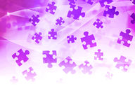 Pink Abstract Puzzle Background Royalty Free Stock Image