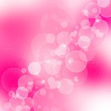 Pink abstract romantic background Royalty Free Stock Image