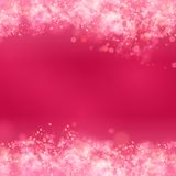 Pink abstract romantic background Stock Image
