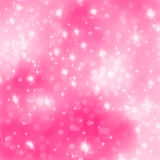 Pink abstract romantic with stars. EPS 8 Royalty Free Stock Image
