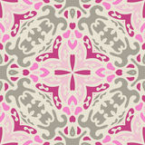 Pink abstract Seamless pattern vector Royalty Free Stock Photos