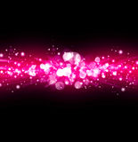 Pink abstract shine background Royalty Free Stock Photo