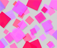 Pink Abstract Squares Background. Light Pink Abstract Squares Background royalty free stock images