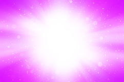 Pink abstract with star and circles background. Stock Photography