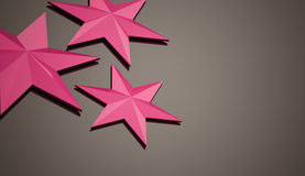 Pink abstract stars background Royalty Free Stock Photo