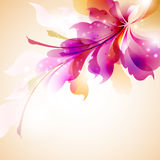 Pink Abstract. Tender background with abstract flower Royalty Free Stock Image