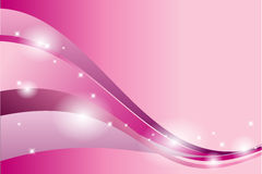 Pink Abstract Vector Backround Stock Illustration