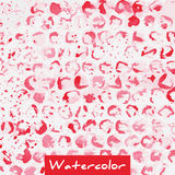 Pink abstract watercolor background Stock Image