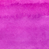 Pink abstract watercolor square Stock Photography