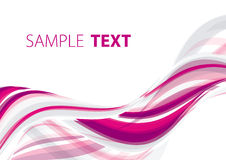 Pink abstraction Stock Images