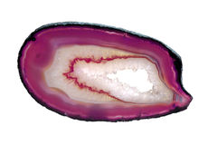 Pink agate Royalty Free Stock Image
