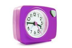 Pink alarm clock Stock Photography