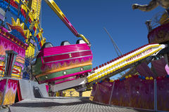 Pink amusement park Royalty Free Stock Image