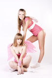 Pink angels Stock Photo