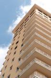 Pink apartment block Stock Image