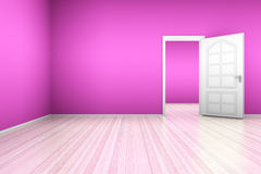 Pink Apartment Royalty Free Stock Image