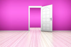 Pink Apartment Stock Photography