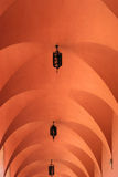 Pink Arched Ceiling Royalty Free Stock Photos