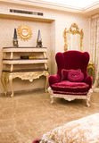 Pink Armchair Royalty Free Stock Photo