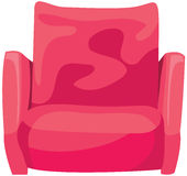Pink armchair Royalty Free Stock Photography