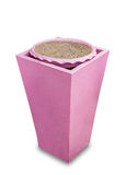 Pink ash tray Stock Photos